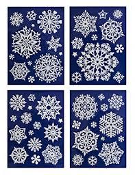 50 Weihnachtliche Winterliche Fensterbilder Weihnachtsdeko Fensterdekoration Wiederverwendbar