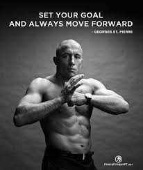 Martial Arts Quotes Fascinating Georges St Pierre MMA Martial Arts Wisdom Quotes UFC Fitness