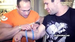 forearm size video denis cyplenkov biceps forearm wrist fist size