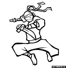 Small Picture Ninja Nick Coloring Page Free Ninja Nick Online Coloring