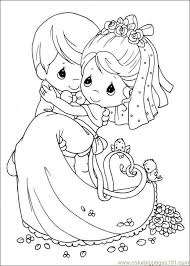 Small Picture 259 best Wedding coloring images on Pinterest Drawings Coloring