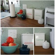 intriguing penny tile kitchen backsplash in soft color