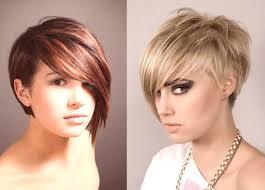Stříhání Vlasů Asymetrie Fotky Módní Trendy