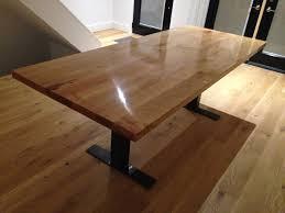 Custom Built Maple Dining Table By Rebarn Rebarn Toronto