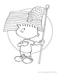 coloring pages of american flag american flag coloring pages for kindergarten