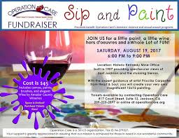 Operation Care To Host Sip & Paint Night | Roots | ledger.news
