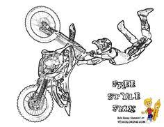 Small Picture Printable Dirt Bike Coloring Page 3790 Fitspiration Pinterest
