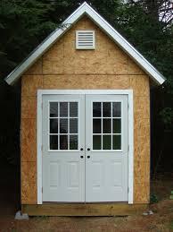 Double Shed Door Design Diy Building Shed Door Design Tips Shed Blueprints