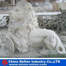 white marble lion statues lion marble sculpture landscape statues garden statues outdoor china sunset red marble stone lion animal sculptures