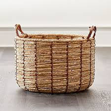 <b>Baskets</b>: <b>Wicker</b>, Wire, <b>Woven</b> and <b>Rattan</b> | Crate and Barrel