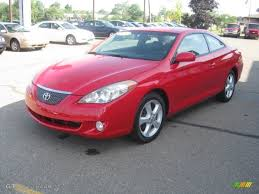 Absolutely Red 2004 Toyota Solara SLE V6 Coupe Exterior Photo ...