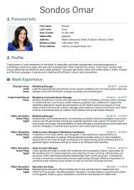 Resume Sample Marketing Manager Unique Resume Template Advertising
