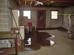 flooded basement. Fine Basement A Flooded Basement Floor In Cobourg Home For Flooded Basement