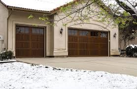 amazing wood garage door alternatives