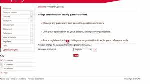 Personal Statement Template Ucas Ucas University Application References