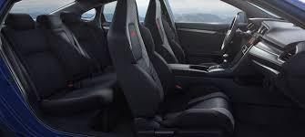 2018 honda civic si sedan interior side view seating