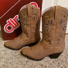 Dingo Boots Size Chart Womens Dingo Annabelle Western Cowboy Boots Sz 8 Nwt