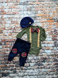Carter S 0 3 Months Size Chart Newborn Baby Boy Coming Home Outfit Baby Boy Bow Tie Bodysuit Suspenders Crocheted Newsboy Hat Knee Patch Pant Baby Shower Gift Plaid