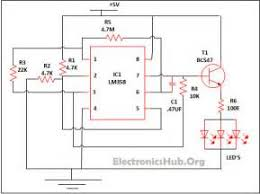 wiring diagram for led light dimmer images led flood light led lamp dimmer project circuit diagram and working