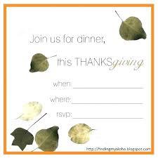 Free Thanksgiving Templates For Word Thanksgiving Invitations Printable Tinajoathome