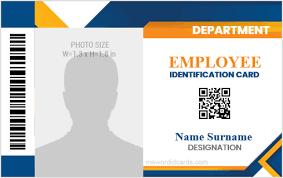 Company Id Card Templates For 2019 2021 Microsoft Word Id