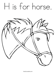 Small Picture Horse Coloring Pages Twisty Noodle