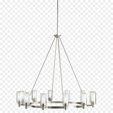 lighting chandelier brushed metal kichler light