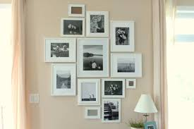 white wall picture frame design