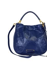 marc jacobs blue patent leather bag previous default view