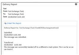 Dilivery Report How Do I Check Delivery Reports In Owa Intermedia