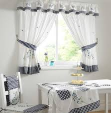 gallery images of the modern small window curtains design