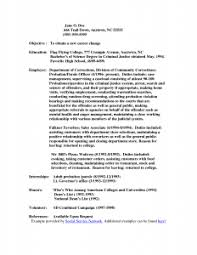 Awesome Parole Agent Cover Letter About Probation And Parole