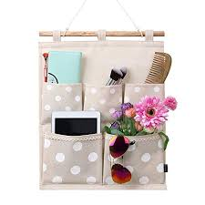 wall hanging storage.  Storage Homecube Linen Cotton Fabric Wall Door Cloth Hanging Storage Bag Case 5  Pocket Home Organizer  And T