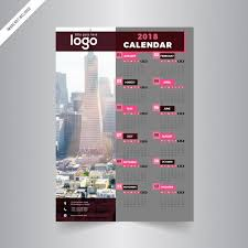 one page calender one page calendar 2018 vector premium download one page calendar
