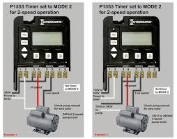 solved how to wire a intermatic timer t104 240 v to a fixya