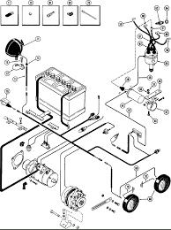 Ponent alternator wire diagram parts for case 580ck loader backhoes shogun racing elec equipment wiring