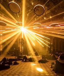 beams lighting. These Colorful Beams Of Light Sing A Hymn Human Perception Lighting