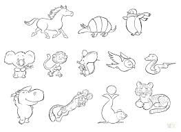 Cute Coloring Pages Of Baby Animals Cute Coloring Pages Of Baby