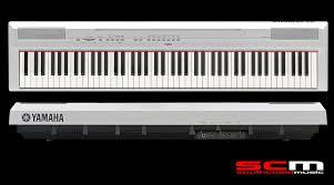 yamaha 88 key digital piano. yamaha p115 88 key digital piano white with cf grand sampling p115wh yamaha key digital piano