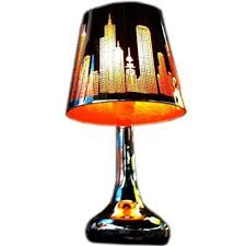 image of unique bedside lamps