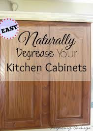 Cleaning Oak Kitchen Cabinets How To Clean Grease From Kitchen Cabinet Doors Cabinets Doors