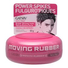 gatsby moving rubber hair wax spiky edge super strong hold 80g london s