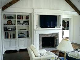 shelf over above fireplace called built in window seat bookcase around family room with mounted shelves