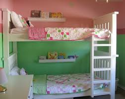Small Bedroom Bunk Beds Diy White Bunk Beds With Ladder Instructions Do It Yourself Home