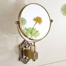 wall makeup mirror antique br oil