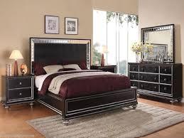 King Size Bedroom Furniture Best Of Glam Black Mirrored King Size Bed  Bedroom Furniture Hollywood Regency Leather Wynwood