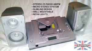 wall mountable stereo jensen