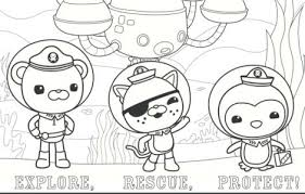 Small Picture Disney Jr Octonauts Coloring Pages Fun for kids Pinterest