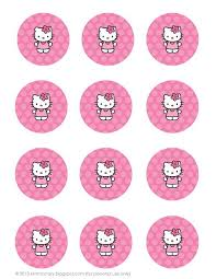 hello kitty birthday party printables printable hello kitty birthday stuff love it crafts pinterest