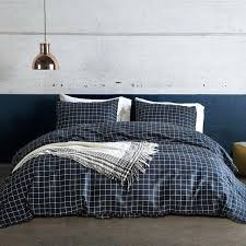 navy and white striped quilt navy blue striped duvet cover set us king queen twin size